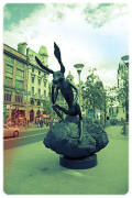 HARE_IN_O'CONNELL_STREET_(pun_intended)